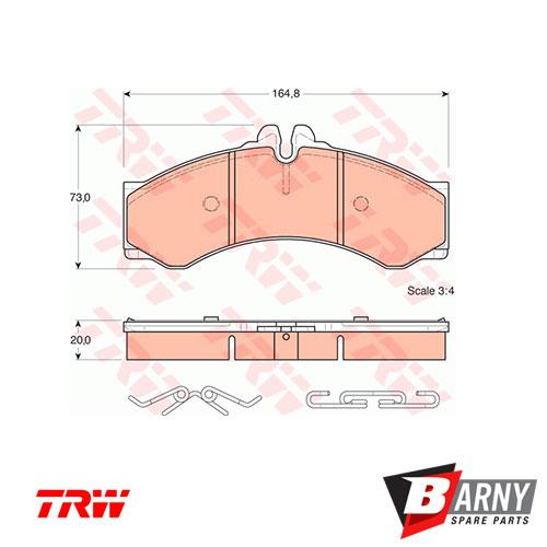 IFR979-Pastiglie-freni-Mercedes-GDB1288-2