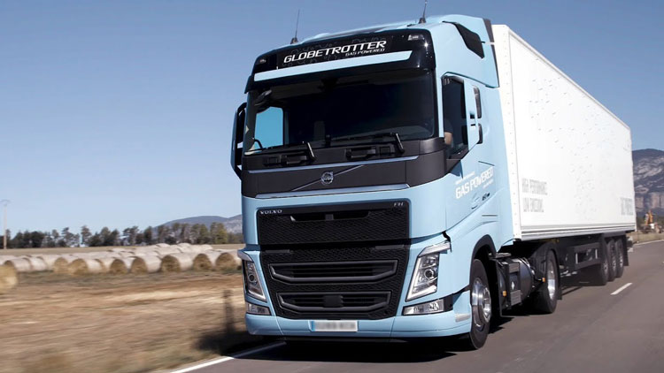 Camion a Metano Volvo - BARNY SPARE PARTS
